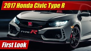 First Look: 2017 Honda Civic Type R