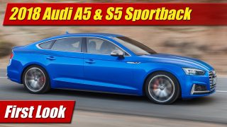 First Look: 2018 Audi A5 & S5 Sportback