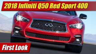 First Look: 2018 Infiniti Q50 Red Sport 400