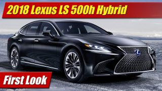 First Look: 2018 Lexus LS 500h Hybrid