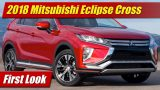 First Look: 2018 Mitsubishi Eclipse Cross