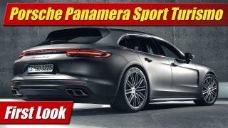 First Look: 2018 Porsche Panamera Sport Turismo