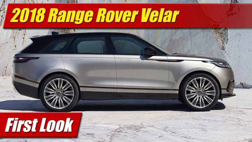 Amazing First Look 2018 Range Rover Velar  TestDrivenTV