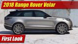 First Look: 2018 Range Rover Velar