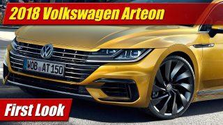 First Look: 2018 Volkswagen Arteon