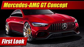 First Look: Mercedes-AMG GT Concept