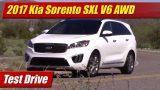 Test Drive: 2017 Kia Sorento SXL V6 AWD