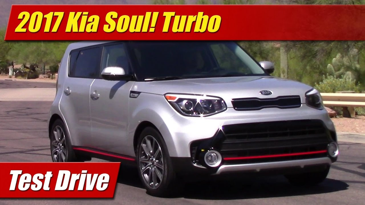 test drive 2017 kia soul turbo testdriven tv. Black Bedroom Furniture Sets. Home Design Ideas