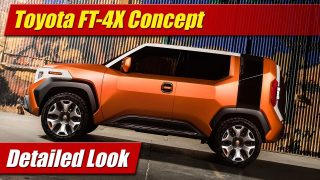 Detailed Look: Toyota FT-4X Concept