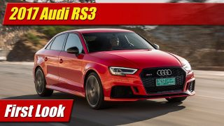 First Look: 2017 Audi RS3
