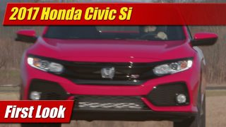 First Look: 2017 Honda Civic Si