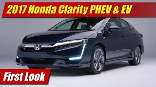 First Look: 2017 Honda Clarity PHEV & EV