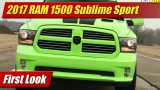 First Look: 2017 RAM 1500 Sublime Sport