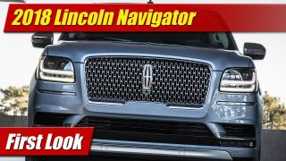 First Look: 2018 Lincoln Navigator