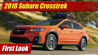 First Look: 2018 Subaru Crosstrek