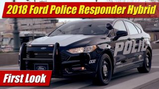 First Look: Ford Police Responder Hybrid