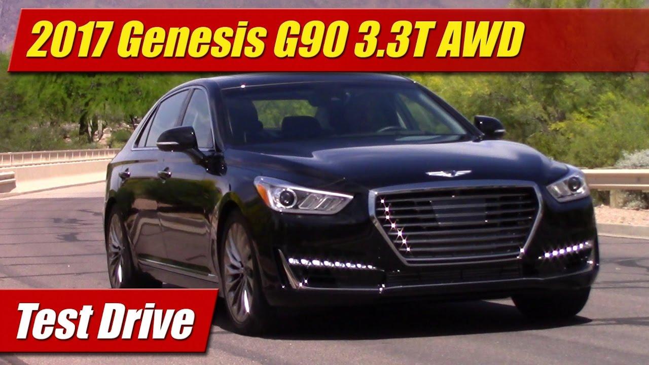 Test Drive: 2017 Genesis G90 3.3T AWD