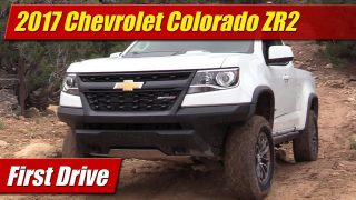 First Drive: 2017 Chevrolet Colorado ZR2