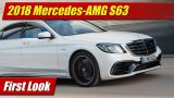 First Look: 2018 Mercedes-AMG S63