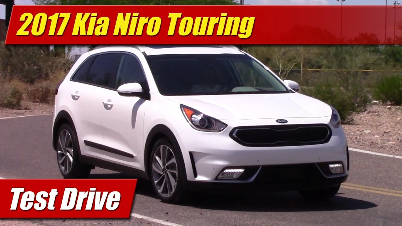 test drive 2017 kia niro touring testdriven tv. Black Bedroom Furniture Sets. Home Design Ideas
