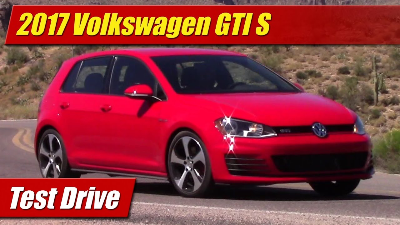 test drive 2017 volkswagen gti s testdriven tv. Black Bedroom Furniture Sets. Home Design Ideas