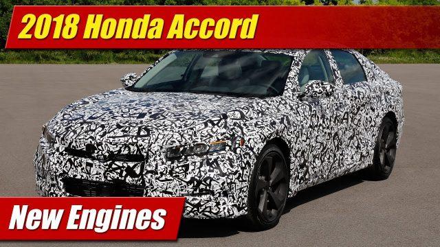2018 Honda Accord New Engines