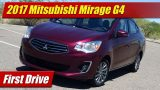 First Drive: 2017 Mitsubishi Mirage G4