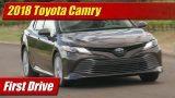 First Drive: 2018 Toyota Camry