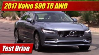 Test Drive: 2017 Volvo S90 T6 AWD