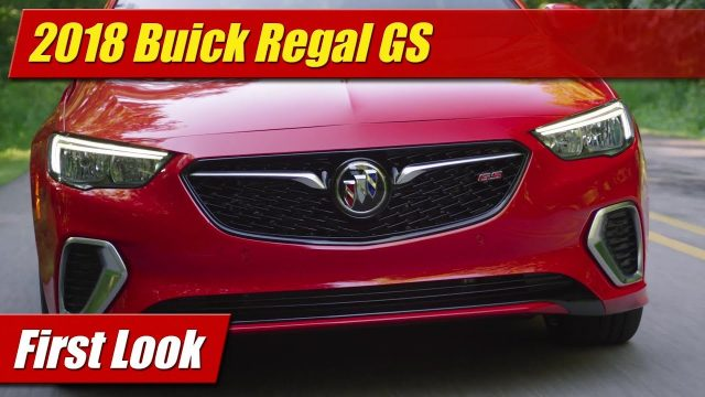 First Look: 2018 Buick Regal GS