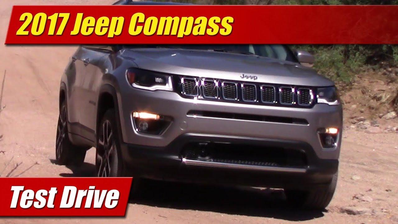test drive 2017 jeep compass testdriven tv. Black Bedroom Furniture Sets. Home Design Ideas