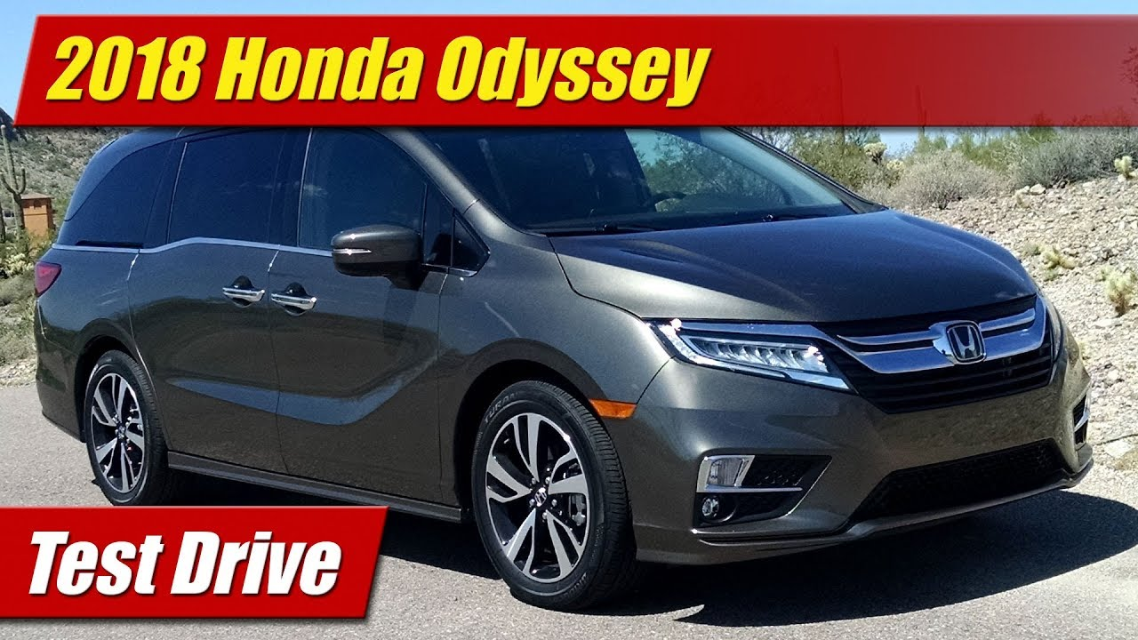 test drive 2018 honda odyssey testdriven tv. Black Bedroom Furniture Sets. Home Design Ideas