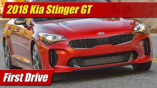 First Drive: 2018 Kia Stinger GT