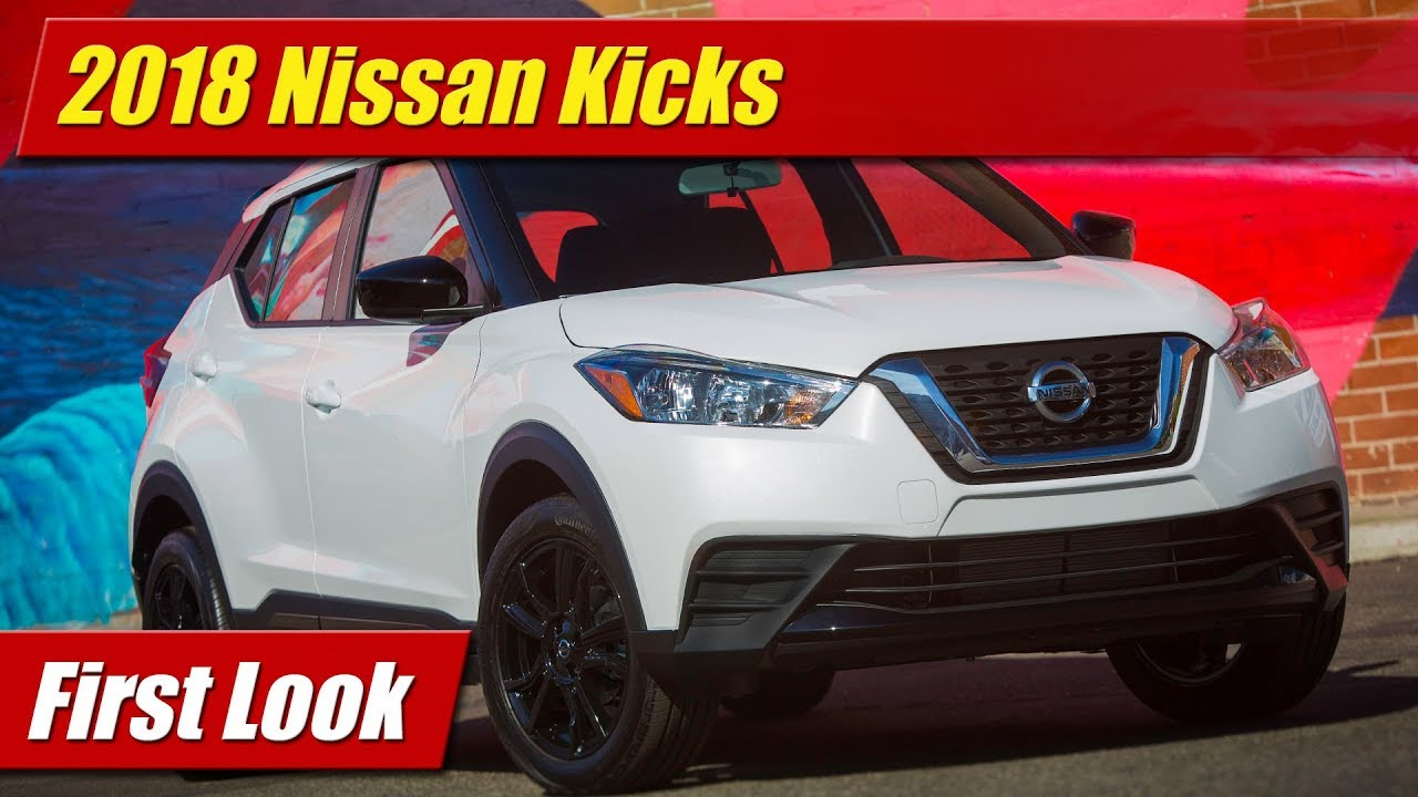 first look 2018 nissan kicks testdriven tv. Black Bedroom Furniture Sets. Home Design Ideas