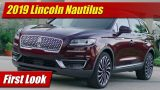 First Look: 2019 Lincoln Nautilus