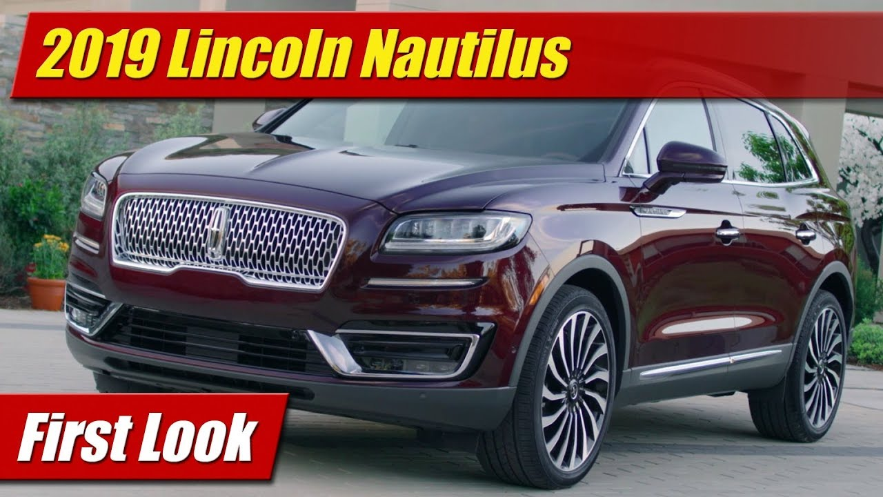 First Look Lincoln Nautilus