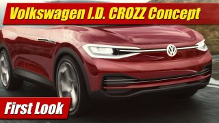 First Look: Volkswagen I.D. CROZZ Concept