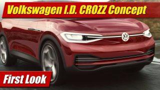 First Look: Volkswagen I.D. CROZZ Concept