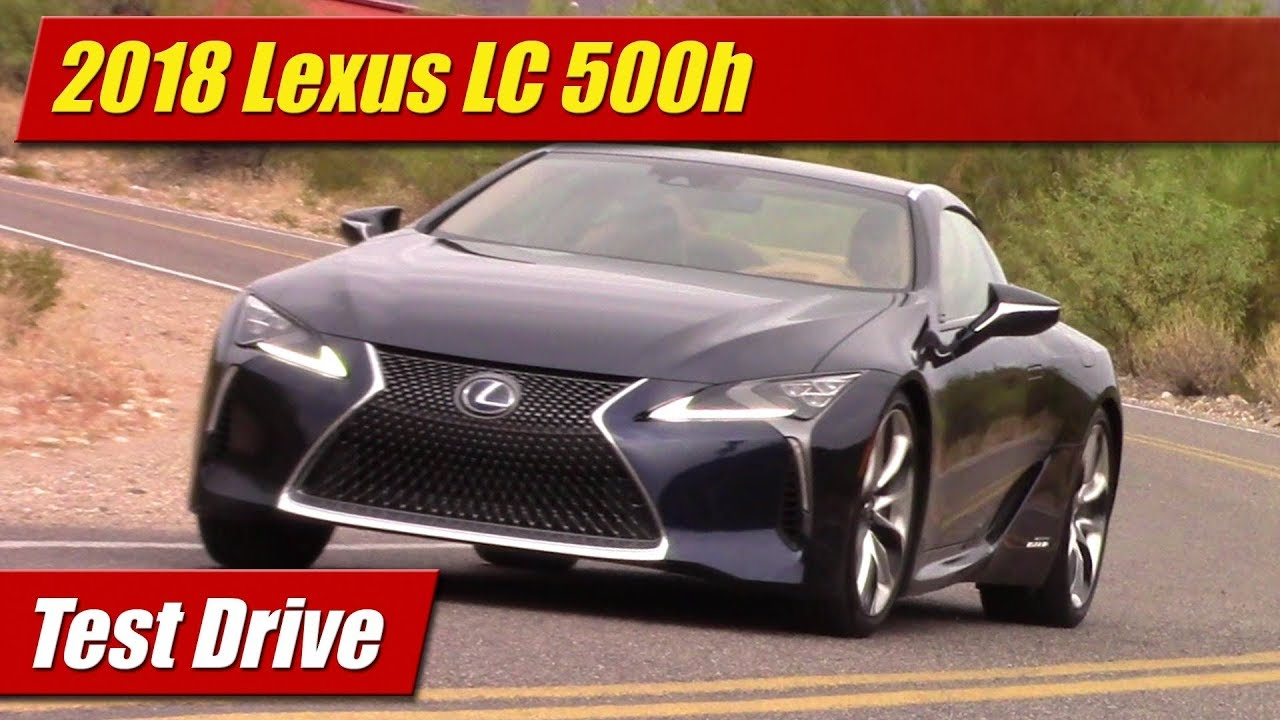 test drive 2018 lexus lc500h hybrid testdriven tv. Black Bedroom Furniture Sets. Home Design Ideas