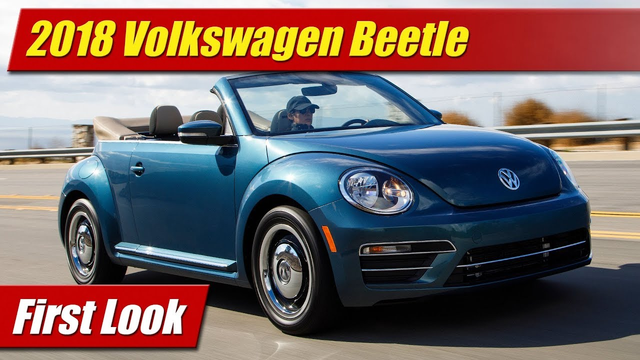 What 39 s new 2018 volkswagen beetle testdriven tv for Credit auto garage volkswagen