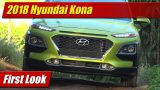 First Look: 2018 Hyundai Kona