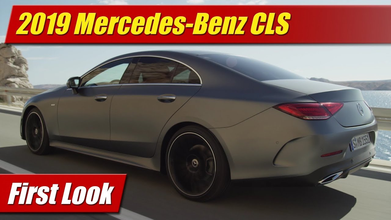 First Look: 2019 Mercedes-Benz CLS
