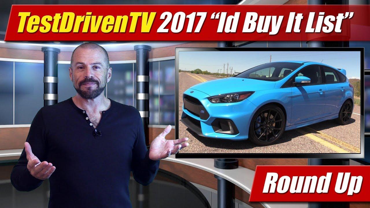 Round Up: Id Buy It List 2017