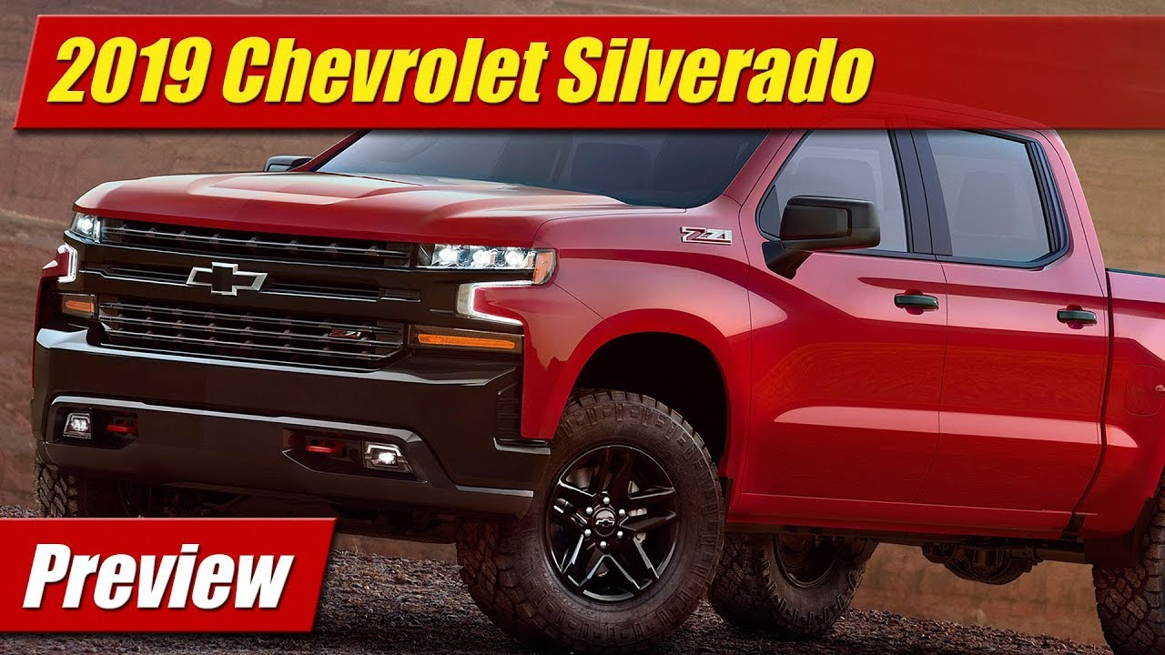 preview 2019 chevrolet silverado testdriven tv. Black Bedroom Furniture Sets. Home Design Ideas