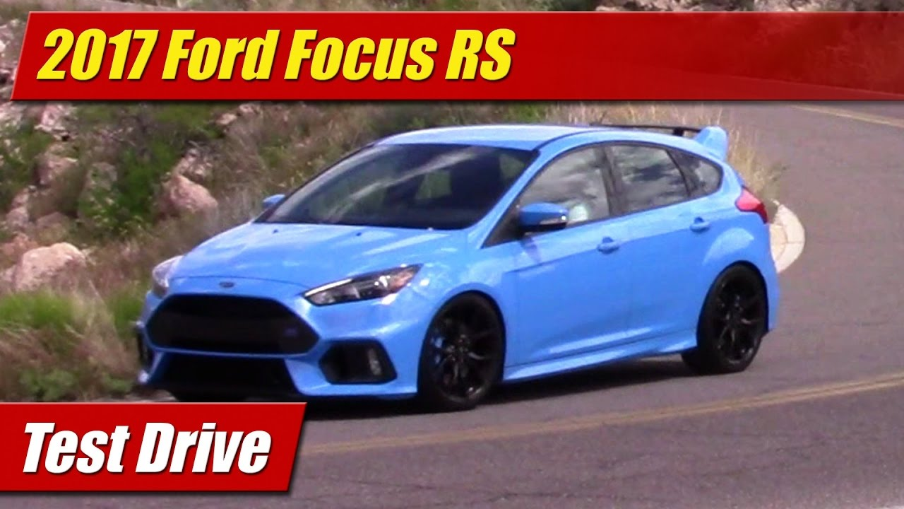 test drive 2017 ford focus rs testdriven tv. Black Bedroom Furniture Sets. Home Design Ideas