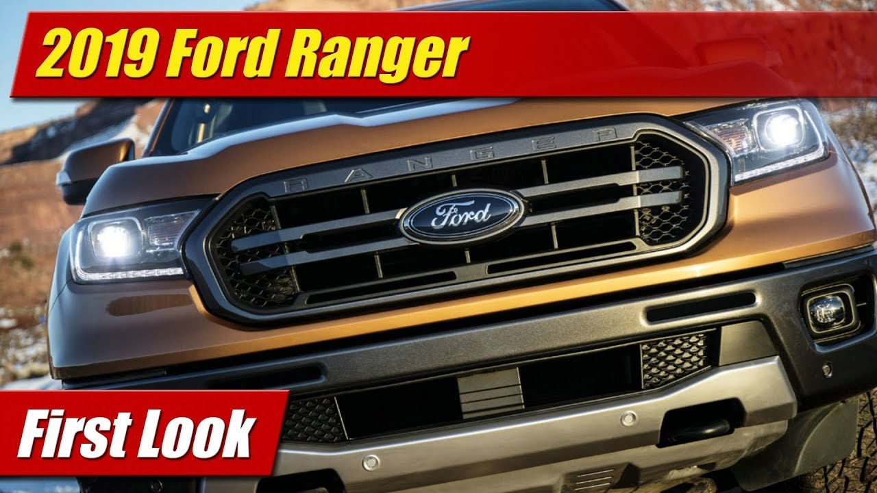 first look 2019 ford ranger testdriven tv. Black Bedroom Furniture Sets. Home Design Ideas