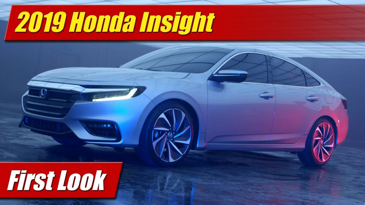 First Look: 2019 Honda Insight