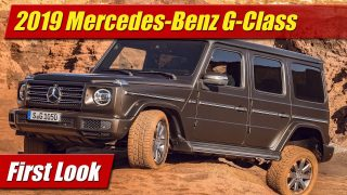 First Look: 2019 Mercedes G-Class