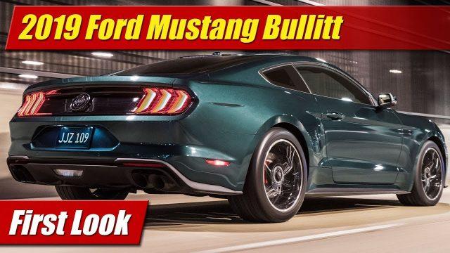 First Look: 2019 Mustang Bullitt