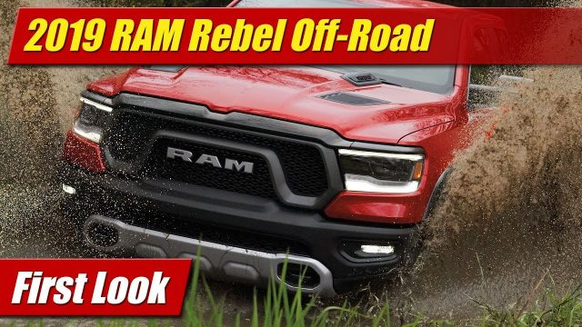 First Look: 2019 RAM Rebel